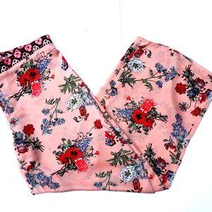 ASOS Floral Wide Leg Pants - Size: 10